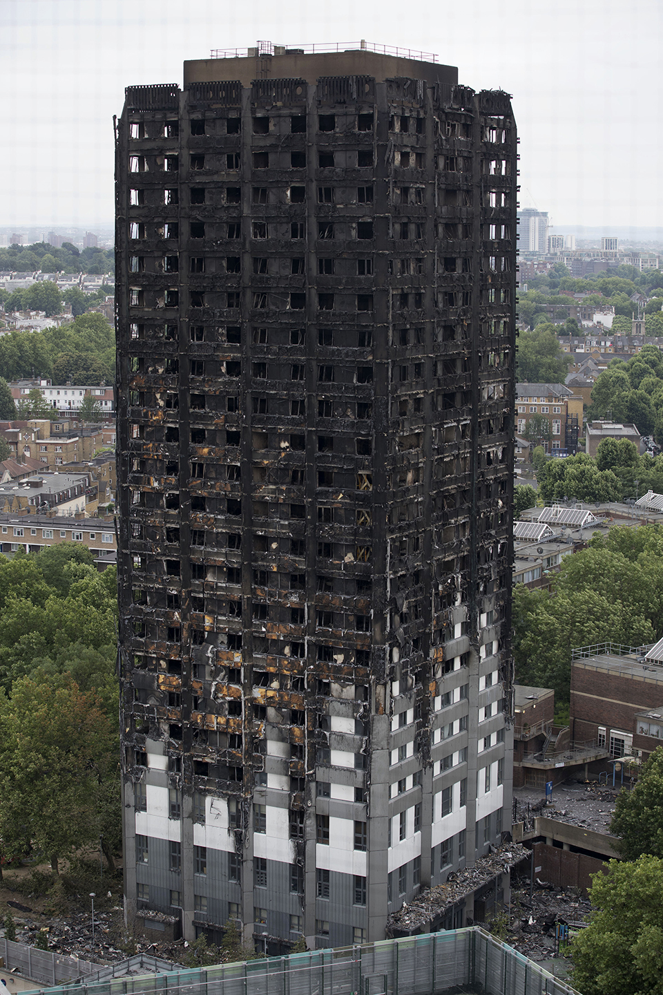 Grenfell Tower Fire, West London