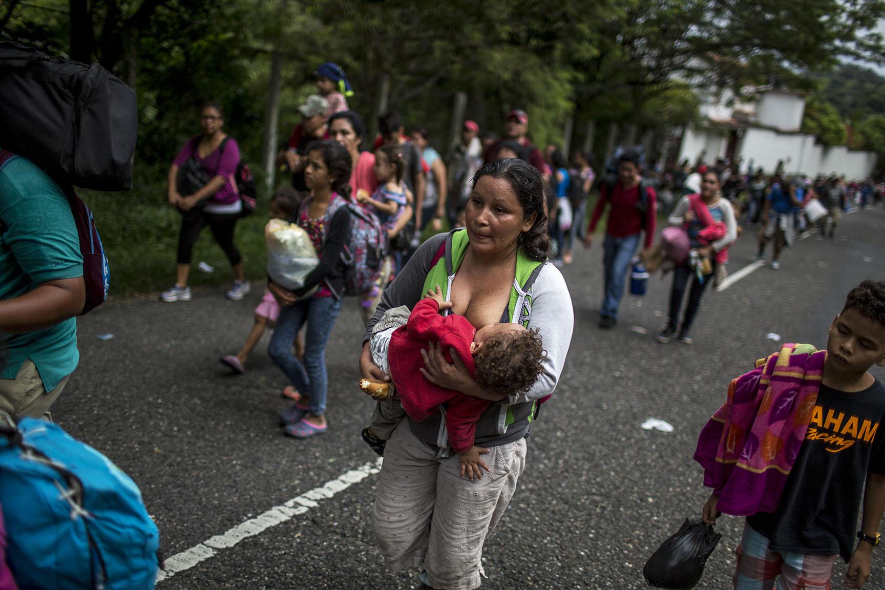 Caravana migrantes 10