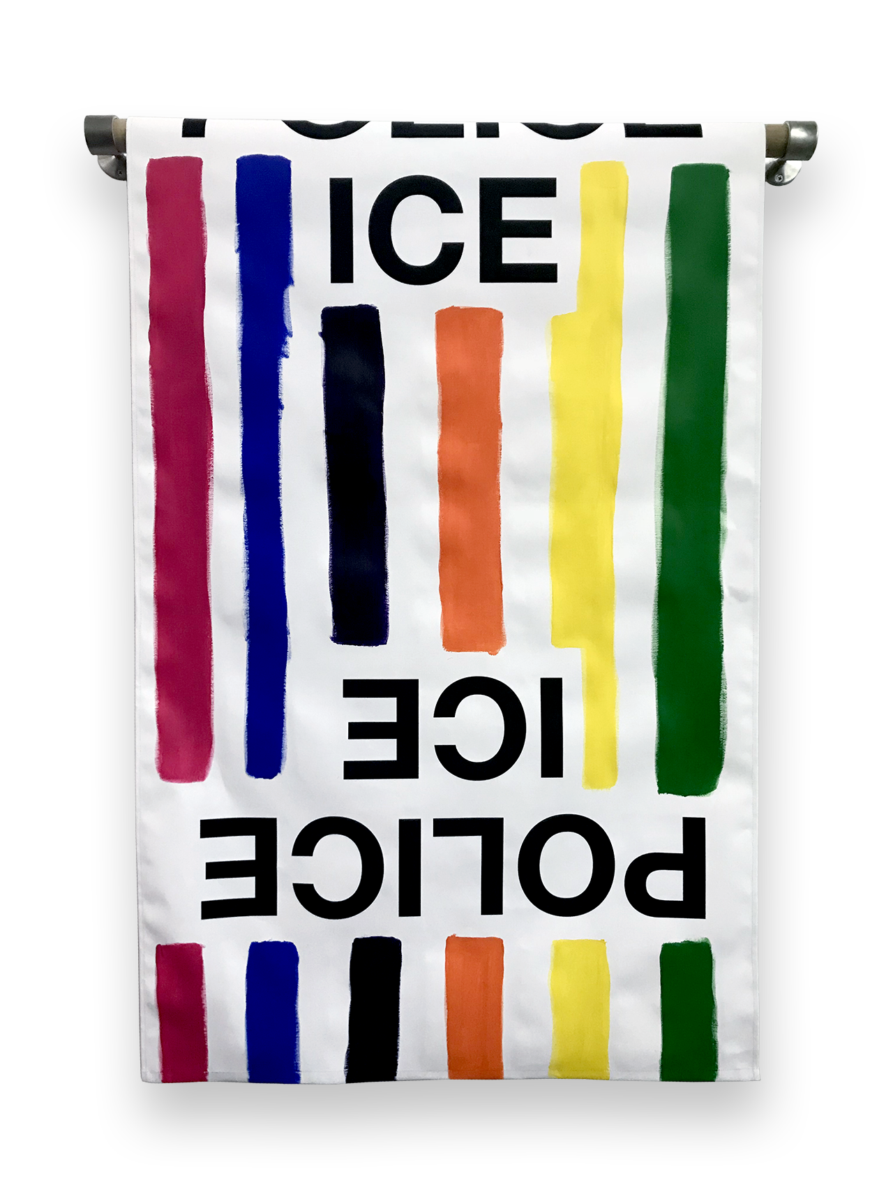 Paul Chan_towel -ABOLISH ICE-1