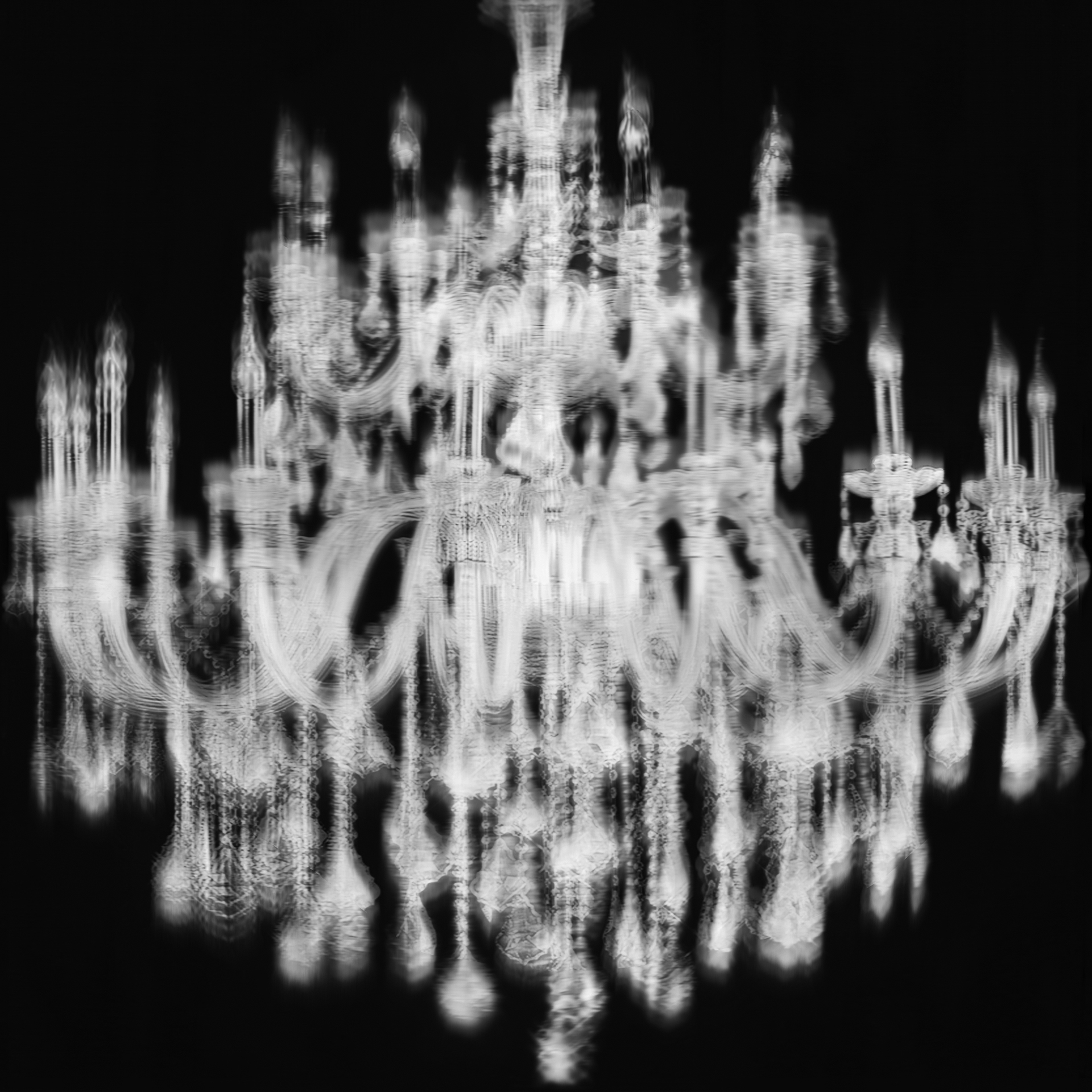 Chandelier 5.St2 2014 Digital Photograph
